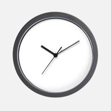 My Finnish Spitz not just a dog Wall Clock
