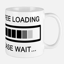 Coffee Loading Please Wait Mug