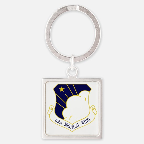 59th Medical Wing Square Keychain