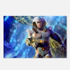 Space Hero Postcards (Package of 8)