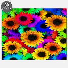 Gorgeous Sunflowers Puzzle
