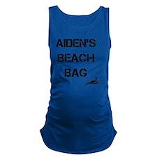 Personalized Kids Beach Tote Ba Maternity Tank Top