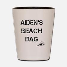 Personalized Kids Beach Tote Bag Shot Glass