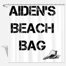 Personalized Kids Beach Tote Bag Shower Curtain