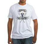 Torch and Pitchfork Society Fitted T-Shirt