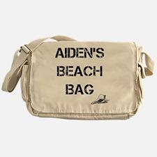 Personalized Kids Beach Tote Bag Messenger Bag