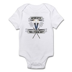 Torch and Pitchfork Society Infant Bodysuit