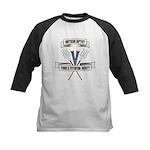 Torch and Pitchfork Society Kids Baseball Jersey