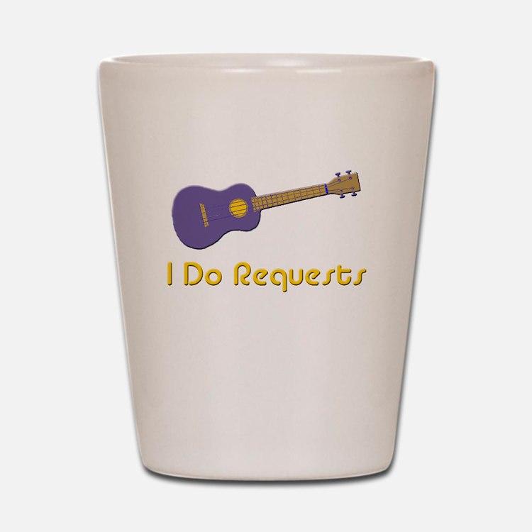 funny ukulele uke Shot Glass