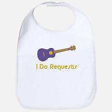 funny ukulele uke Bib