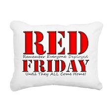 Remember Everyone Deploy Rectangular Canvas Pillow