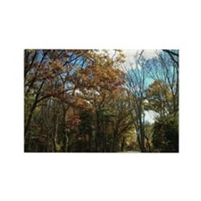 Greenwich Fall Rectangle Magnet