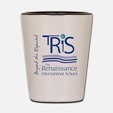 TRIS-Vert logo Shot Glass