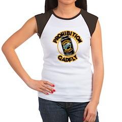 Prohibition Gadfly Women's Cap Sleeve T-Shirt
