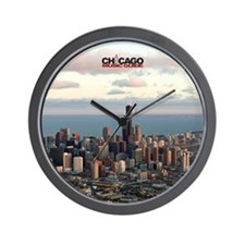 chicago music guide frameless  #3 Wall Clock