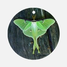Luna Moth Round Ornament