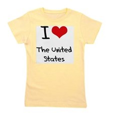 I love The United States Girl's Tee
