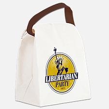 Libertarian Logo Canvas Lunch Bag