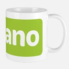 horizontal nano with molecule Mug