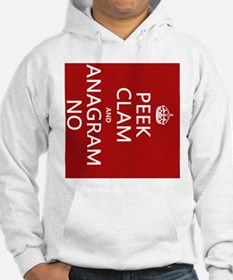 Keep Calm and Anagram On Hoodie