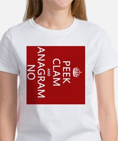 Keep Calm and Anagram On Tee