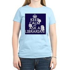 Keep Calm and Ask A Libraria T-Shirt