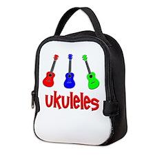Ukulele Neoprene Lunch Bag