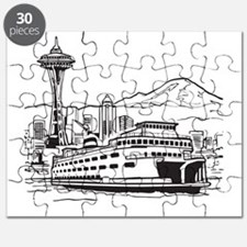 Space Needle and Ferry Puzzle