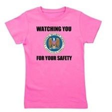 Watching You For Your Safety Girl's Tee