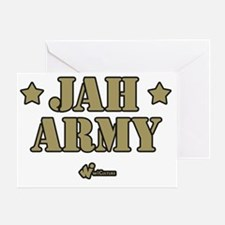 Jah Army Greeting Card
