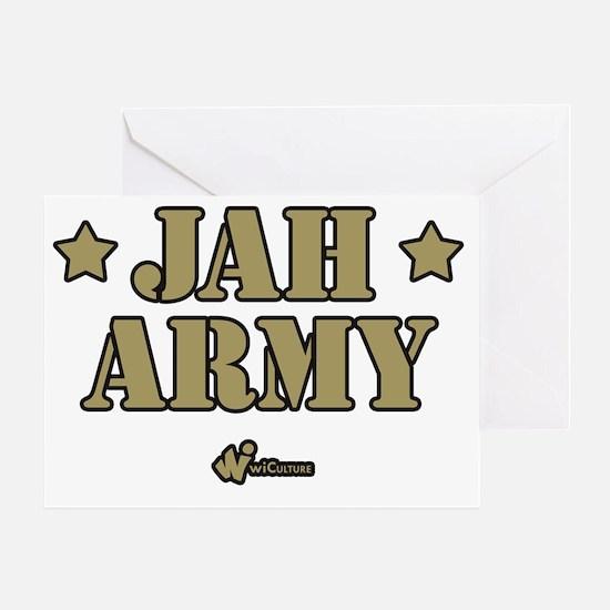 Jah Army Greeting Card