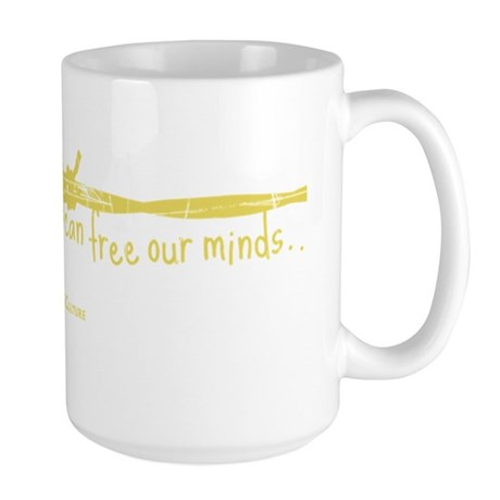 None But Ourselves Large Mug