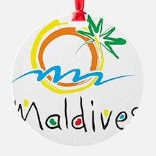 Maldives Ornament