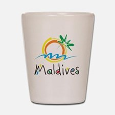 Maldives Shot Glass