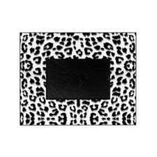 Snow Leopard Print Picture Frame