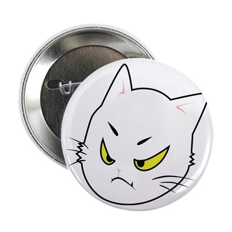 """Kitty Cats Bad Moods 2.25"""" Button"""