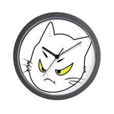 Kitty Cats Bad Moods Wall Clock