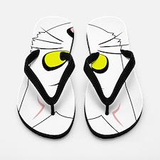 Kitty Cats Bad Moods Flip Flops