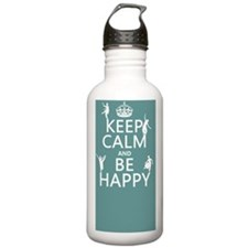 Be Happy (dance) Water Bottle
