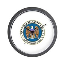 Watching You For Your Own Protection (W Wall Clock