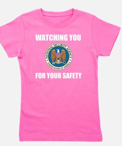 Watching You For Your Own Protection (W Girl's Tee