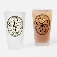 Disc Golfer Drinking Glass