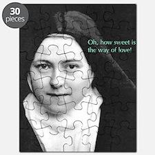 Words from Sainte Thérèse de Lisieux Puzzle
