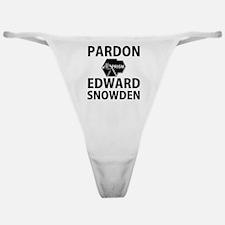 Pardon Edward Snowden Classic Thong