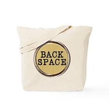 Back Space Key Tote Bag