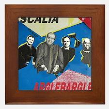 Argle Bargle Framed Tile
