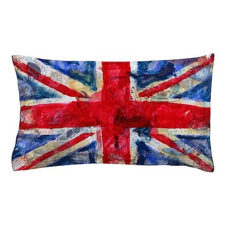 GB Flag Pillow Case
