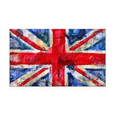 GB Flag Rectangle Car Magnet