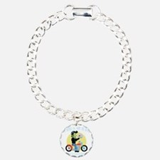 to-ride-or-DKT Charm Bracelet, One Charm