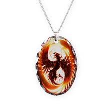 Ipad Mini red phoenix Necklace